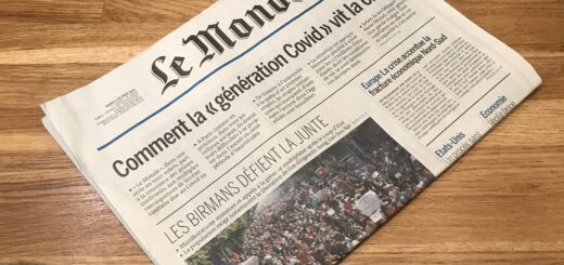 Le journal Le Monde